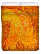 Spirit Fire Duvet Cover
