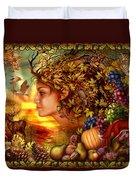 Spirit Of Autumn Duvet Cover
