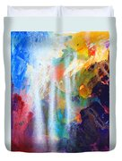 Spirit Of Life - Abstract 5 Duvet Cover