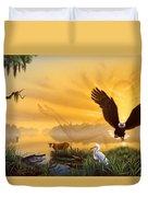 Spirit Of The Everglades Duvet Cover