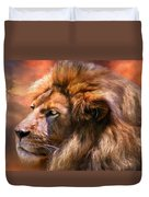 Spirit Of The Lion Duvet Cover