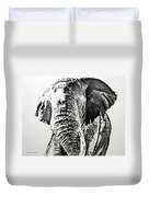 Spirit Of The Serengeti Duvet Cover