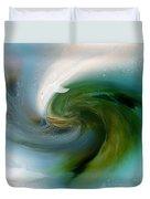 Spirit Of The White Dolphin Duvet Cover