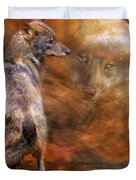 Spirit Of The Wolf Duvet Cover
