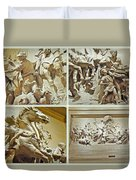 Spirit Of Transportation 1895 By Karl Bitter - Philadelphia Duvet Cover by Mother Nature
