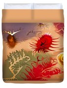 Spirits And Roses Duvet Cover by Omaste Witkowski
