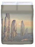 Spirits Of Callanish Isle Of Lewis Duvet Cover