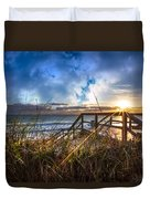 Spiritual Renewal Duvet Cover by Debra and Dave Vanderlaan