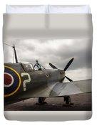 Spitfire On Display Duvet Cover