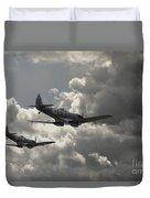 Spitfire Wingman Duvet Cover
