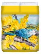 Spix's Macaw - A Dream Of Home Duvet Cover