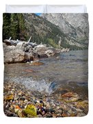 Splash Lake Jenny Duvet Cover