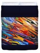 Splash Of Colour Duvet Cover