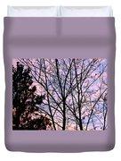 Splendid Silhouette Duvet Cover