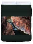 Splendor On Quail Creek Duvet Cover