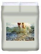 Splish Splash Duvet Cover by Heiko Koehrer-Wagner