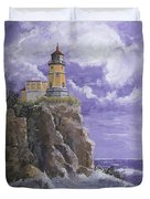 Split Rock Magic Duvet Cover