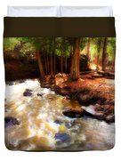 Split Rock River Duvet Cover