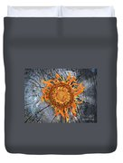 Split Sunflower Duvet Cover