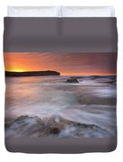 Splitting The Tides Duvet Cover