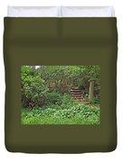 Spohr Gardens - Quissett - Falmouth - Ma - Cape Cod Duvet Cover