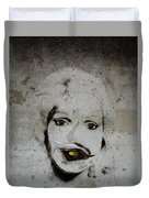 Spoiled Portrait In The Wall Duvet Cover