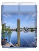 Sponge Boat Docks 2  Duvet Cover