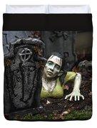 Spookie Lady Duvet Cover