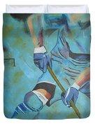 Sports Hockey-2 Duvet Cover
