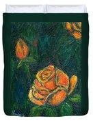 Spotlight Rose Duvet Cover