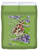 Spotted Butterfly Duvet Cover