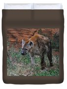 Spotted Hyena Duvet Cover