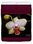 Spotted Orchid Duvet Cover