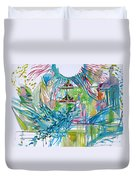 Spread Of Energies Duvet Cover