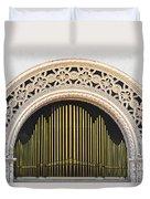Spreckels Organ Balboa Park San Diego Duvet Cover