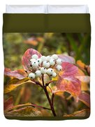 Sprig Of Pearls Duvet Cover