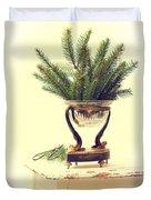Sprigs Of Pine Duvet Cover