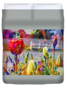 Spring Abstraction IIi Duvet Cover