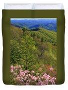 Spring Along The Blue Ridge Duvet Cover