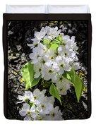 Spring Apple Blossoms Duvet Cover