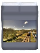 Spring At Seaton Junction  Duvet Cover