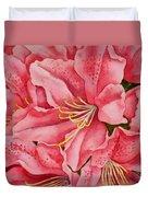 Spring Azalea Duvet Cover
