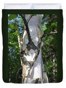 Spring Birch Duvet Cover