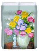 Spring Blooms  Duvet Cover