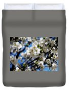 Spring Blossoms, Baltimore Duvet Cover