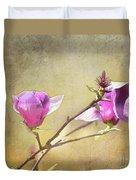 Spring Blossoms - Digital Sketch Duvet Cover
