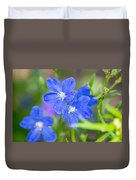 Spring Blue Duvet Cover