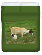 Spring Born Duvet Cover