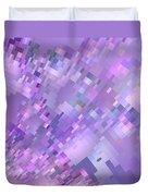 Spring Breeze Pixelated Art Duvet Cover