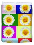 Spring Collage Duvet Cover